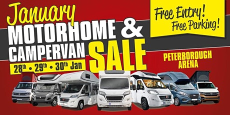 The January Motorhome & Campervan Sale tickets
