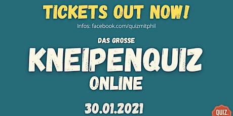 Kneipenquiz Online Tickets