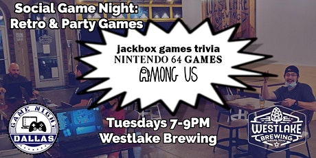 Game Night at Westlake Brewing Company tickets