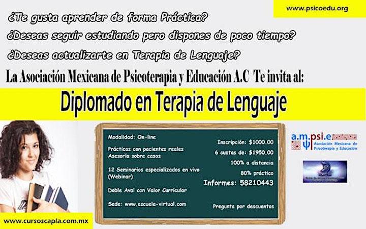 Imagen de Diplomado en Terapia de lenguaje