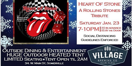 Heart of Stone: A Rolling Stones Tribute! @Village Brewing Company tickets