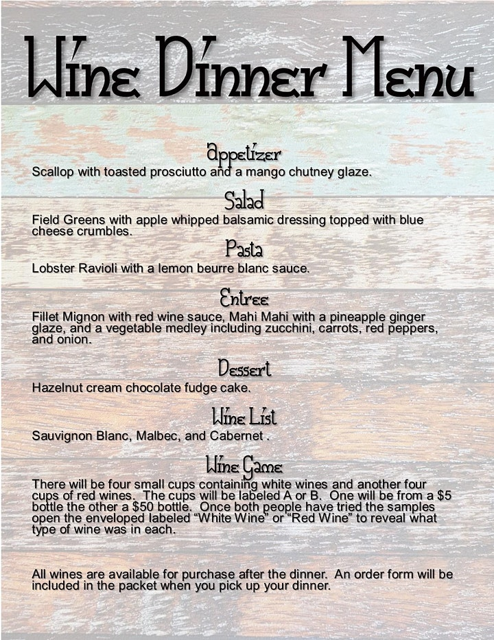 Byron Chamber Annual Wine Dinner image
