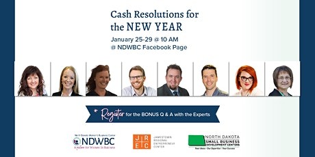 Cash Resolutions for the New Year bilhetes