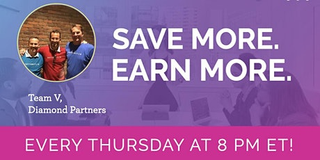 Save More. Earn More. - an online business overview  event tickets