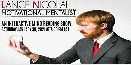 Virtual Mind Reading Show tickets