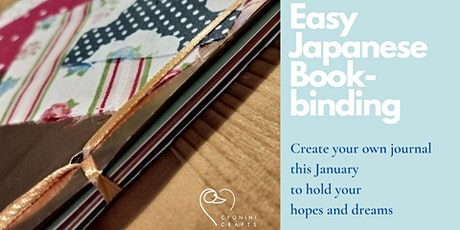 Childrens Journal Making with Ribboned Japanese Binding tickets