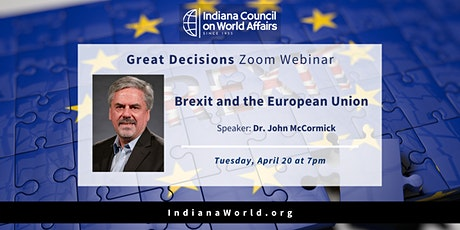 Great Decisions: Brexit and the European Union tickets