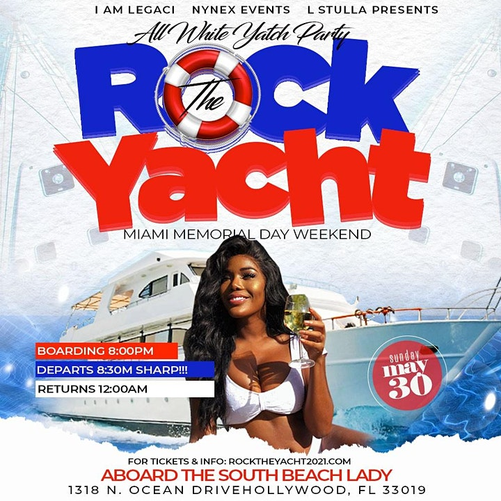 ROCK THE YACHT MIAMI 2021 MEMORIAL DAY WEEKEND ANN image
