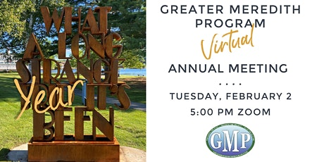 Greater Meredith Program Annual Meeting tickets