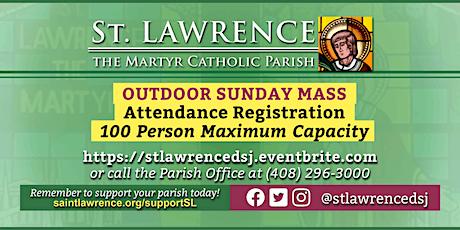 SUNDAY, January 17, 2021 @ 9:30 AM Mass Registration tickets