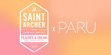 Peaches & Cream Milkshake IPA w/ Paru Tea Bar Release tickets