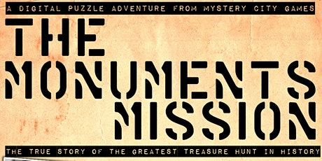 Atlas Obscura Presents: Mystery City Games' Monuments Mission tickets