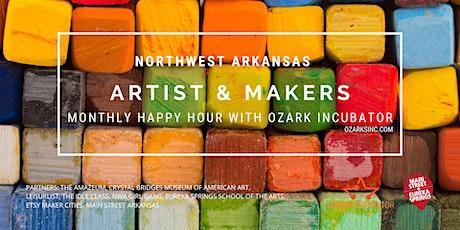 Northwest Arkansas  Artist/Maker Happy Hour with Ozark Incubator tickets