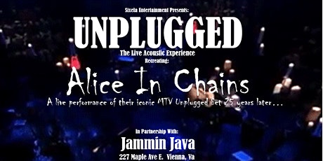 """Sixela Entertainment Presents: MTV Alice in Chains """"Unplugged"""" tickets"""