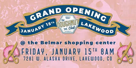 The Doughnut Club Opening at Belmar tickets