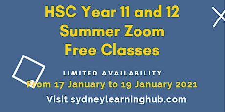 Free Online HSC Physics tutoring (Year 11) tickets