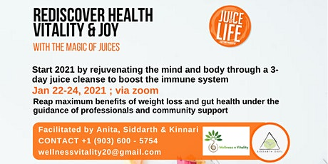 JUICE OF LIFE - REDISCOVER HEALTH tickets