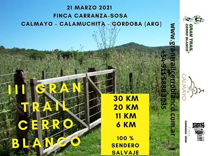 Imagen de III GRAN TRAIL CERRO BLANCO®