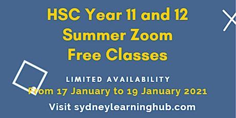 Free Online HSC Chemistry tutoring (Year 11) tickets