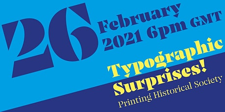 Typographic Surprises! tickets