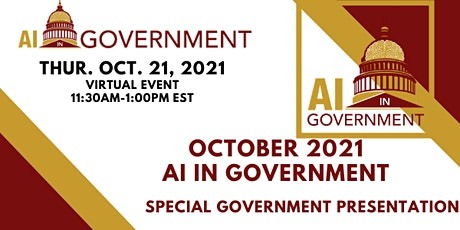 October 2021 AI in Government tickets