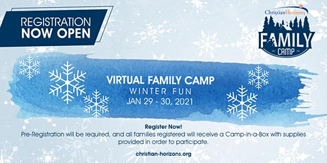 Christian Horizons Virtual Winter Family Camp 2021 tickets