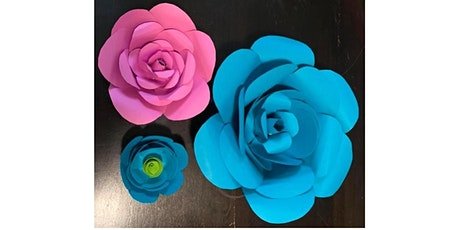 ZOOM ART SESSION: PAPER FLOWER MAKING tickets