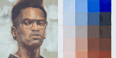 Mixing Warm and Cool Skin Tones - Online Painting Workshop tickets