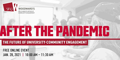 After the Pandemic: The Future of University-Community Engagement tickets