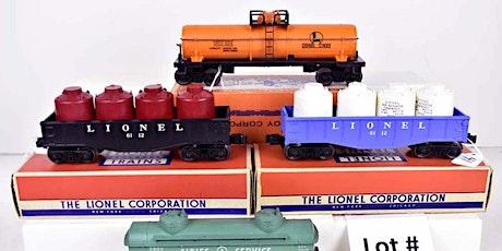 Public Auction: Model Trains & Accessories tickets
