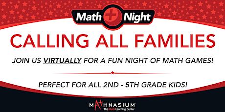 A Fun and Interactive Virtual Math Night tickets