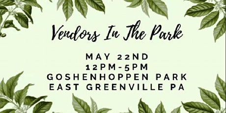 Vendors In The Park tickets