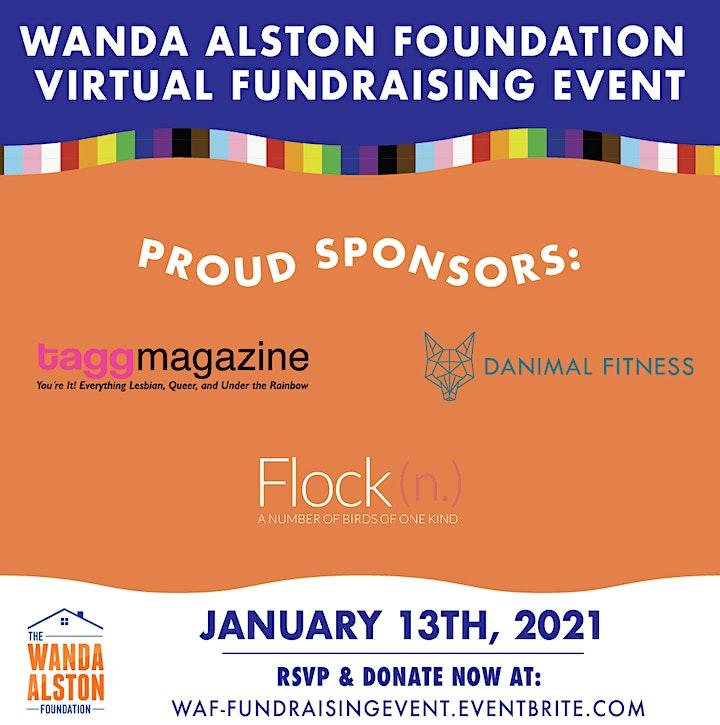 Wanda Alston Foundation | Digital Fundraising Event image