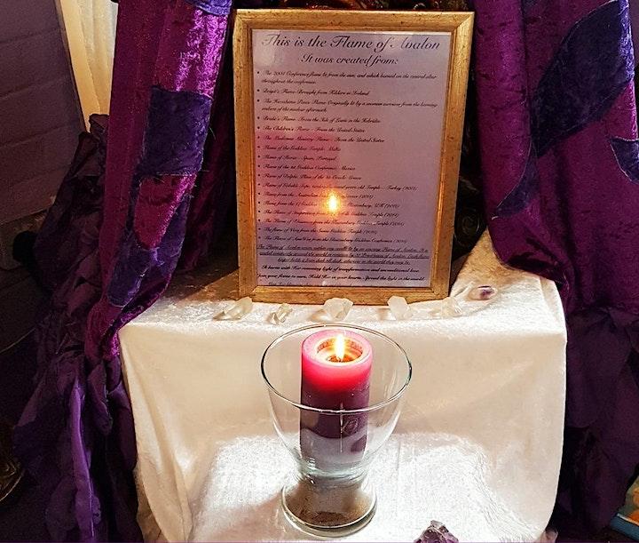 Goddess Temple Beltane Ceremony (Online): Flame Lover Goddess image