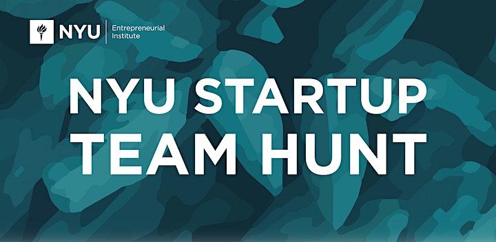 NYU Startup Team Hunt image