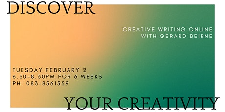Creative Writing Online tickets