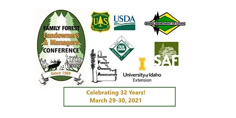2021 Family Forest Landowners & Managers Conference tickets