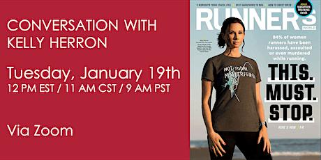 Runner Safety Awareness Week: Conversation with Kelly Herron tickets