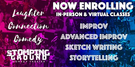 Intro to Improv - *Free* In-Person Drop-In Class tickets