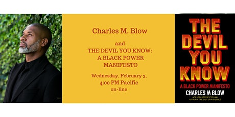 A Conversation with Charles Blow about his new book, THE DEVIL YOU KNOW tickets