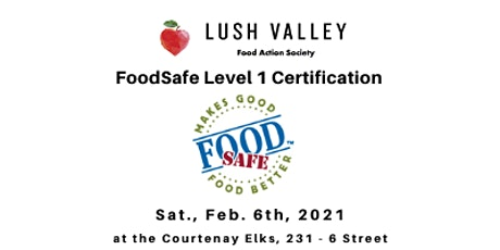 FoodSafe Level 1 Certification Workshop tickets