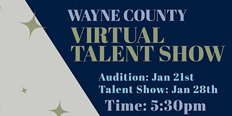 Wayne County Virtual Talent Showcase tickets