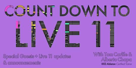 February Ableton Live 11 Countdown! biglietti