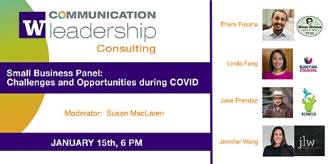 Small businesses - challenges & opportunities during COVID tickets