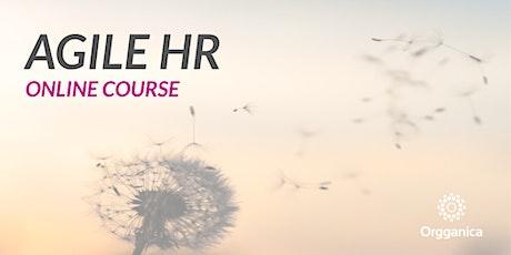 Agile HR Online Course bilhetes