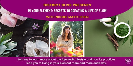 In Your Element: Secrets to Creating a Life of Flow tickets