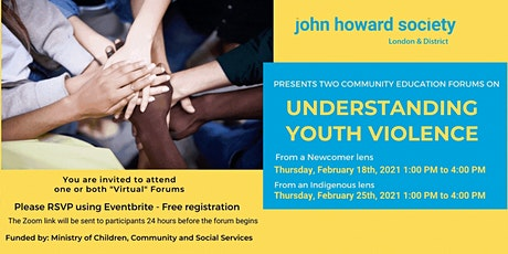 Understanding Youth Violence from a Newcomer Lens tickets