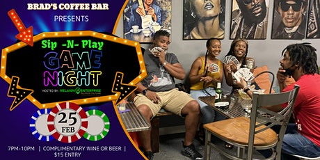 Sip -N- Play | No Strings Attached Edition tickets