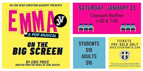 EMMA JV:  On the Big Screen @ Cinemark Bluffton tickets