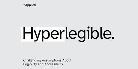 Atkinson Hyperlegible: legibility and accessibility biglietti